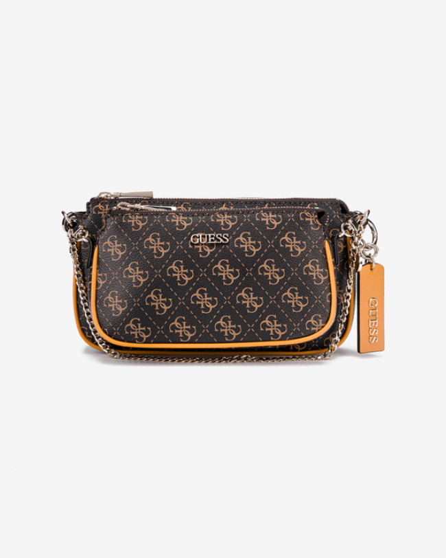 Guess Arie Cross body bag Hnedá