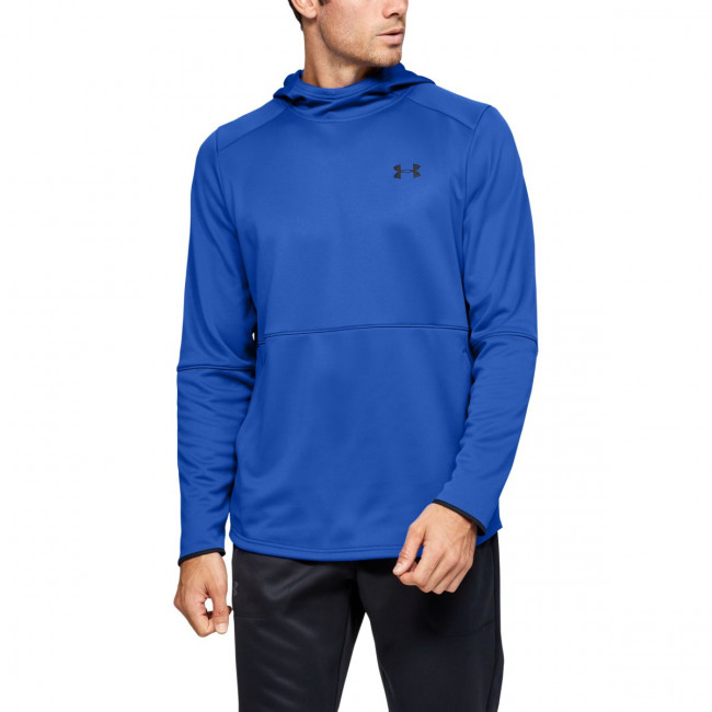 Mikina Under Armour MK1 Warmup PO Hood-BLU