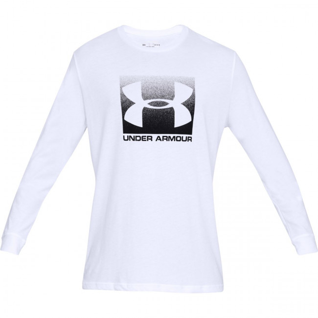 Tričko Under Armour UA BOXED SPORTSTYLE LS-WHT