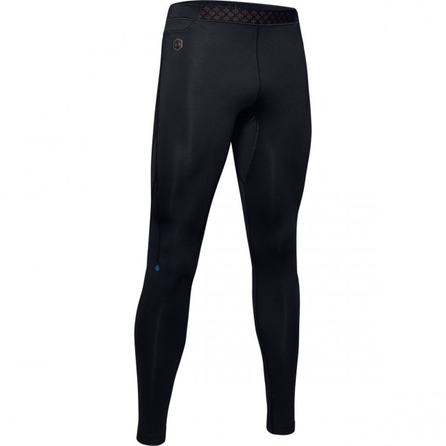 Legíny Under Armour RUSH RUN HEATGEAR TIGHT-BLK