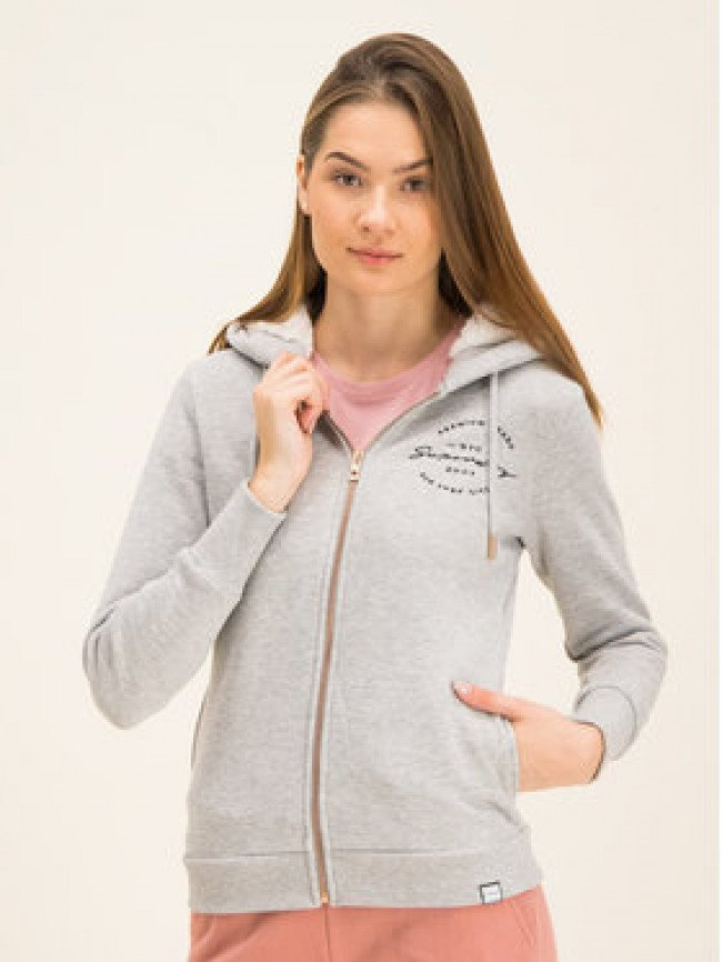 Superdry Mikina Applique W2000009A Sivá Regular Fit