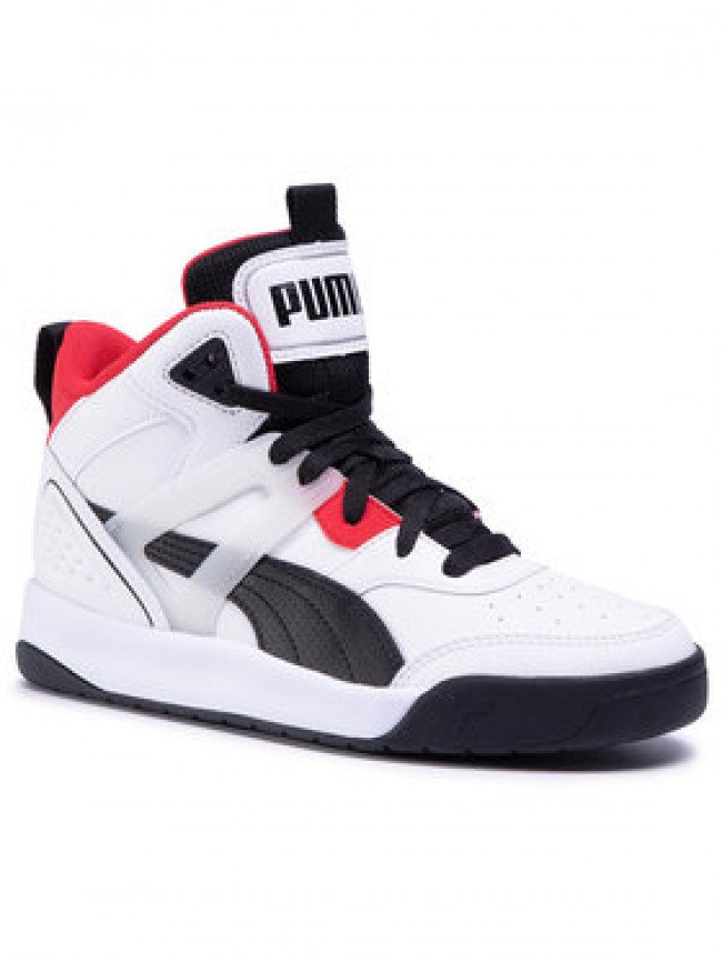 Puma Sneakersy Backcourt Mid Jr 374411 01 Biela