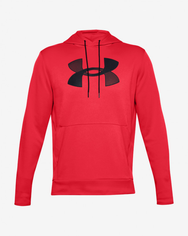 Under Armour Armour Fleece® Big Logo Mikina Červená