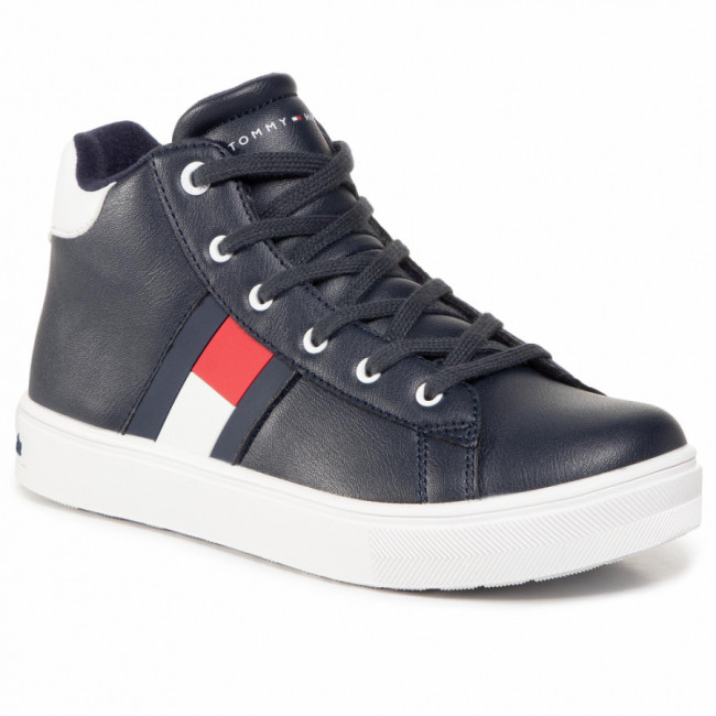 Sneakersy TOMMY HILFIGER - High Top Lace Up Sneaker T3B4 30925 1031 S Blue 800