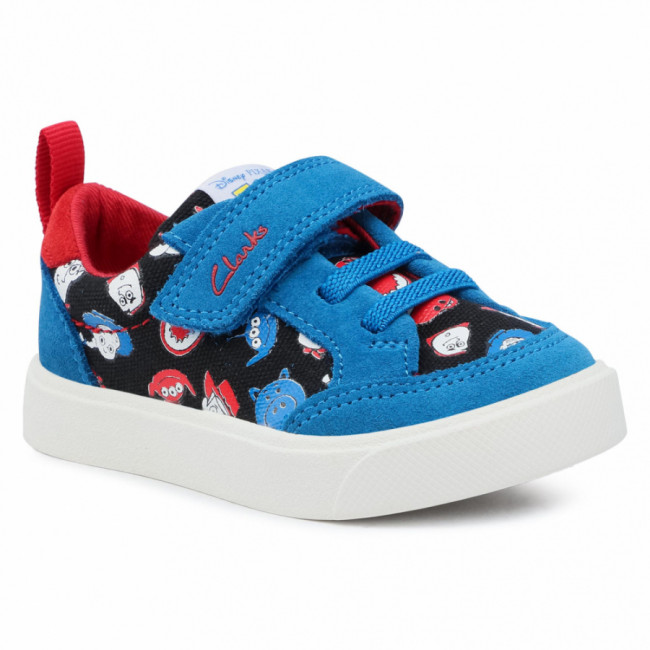 Sneakersy CLARKS - City Howdy T 261527117 Blue Combi