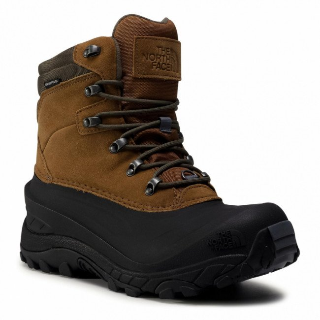 Trekingová obuv THE NORTH FACE - Chilkat IV NF0A4OAFVE01 Utility Brown/New Taupe Green