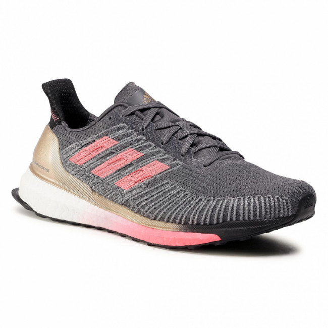 Topánky adidas - Solar Boost  St 19 M FW7811 Grey Five/Signal Pink/Copper Metallic