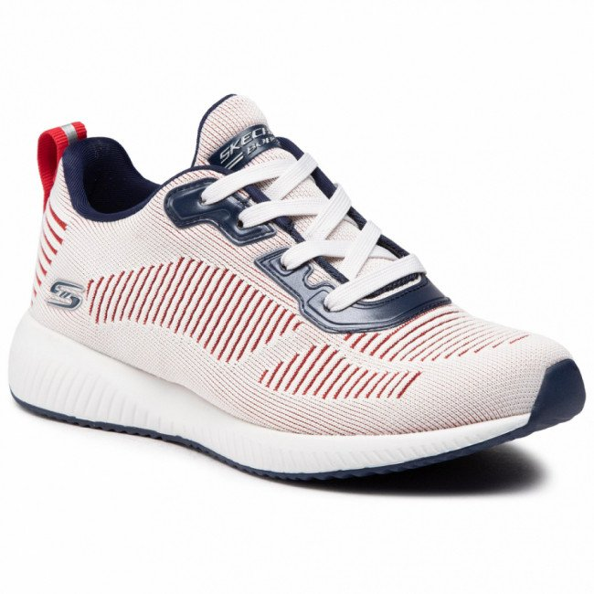 Topánky SKECHERS - Confetti Fever 117001/WNVR White/Navy/Red