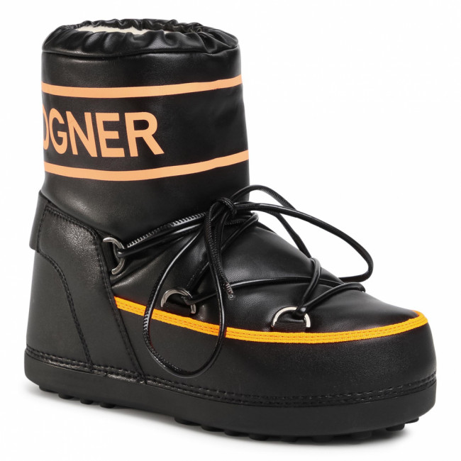 Snehule BOGNER - Trois Vallees 27 303-1594 Black/Orange 59