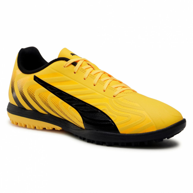 Topánky PUMA - One 20.4 Tt 105833 01 Yellow/Puma Black/Orange
