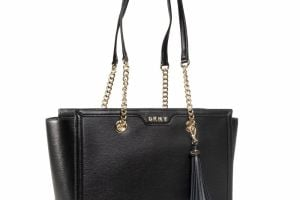 Kabelka DKNY - Polly Tote R03A3K17 Blk/Gold BGD