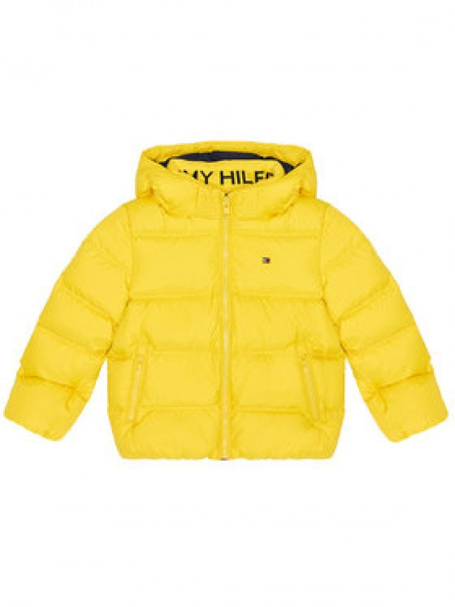 Tommy Hilfiger Vatovaná bunda Essential KB0KB05879 M Žltá Regular Fit