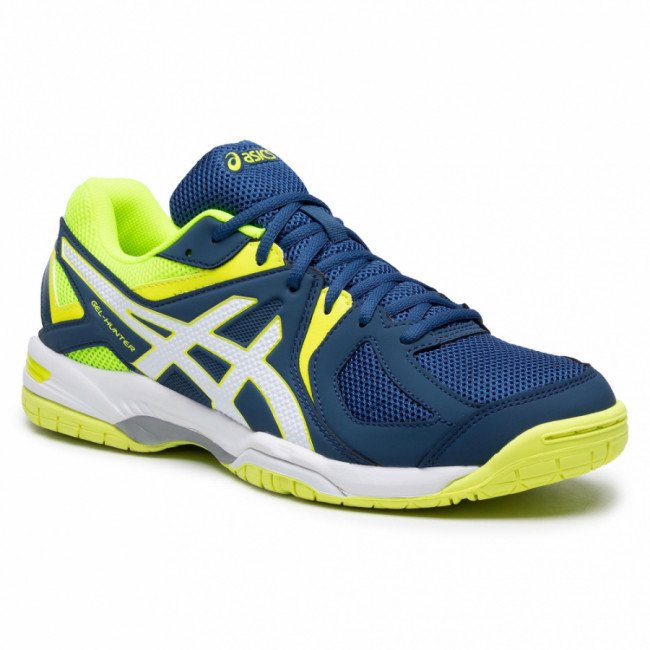 Topánky ASICS - Gel-Hunter 3 R507Y Poseidon/White/Safety Yellow 5801