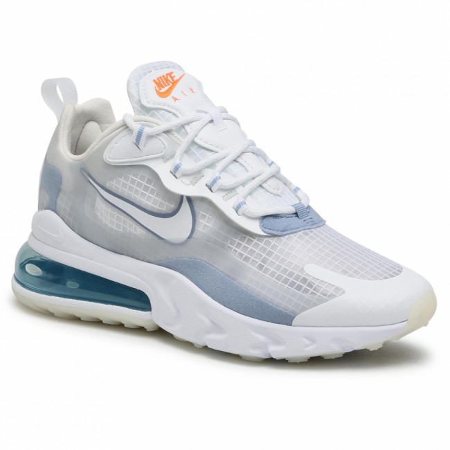 Topánky NIKE - Air Max 270 React Se CT1265 270 White/White/Pure Platinum