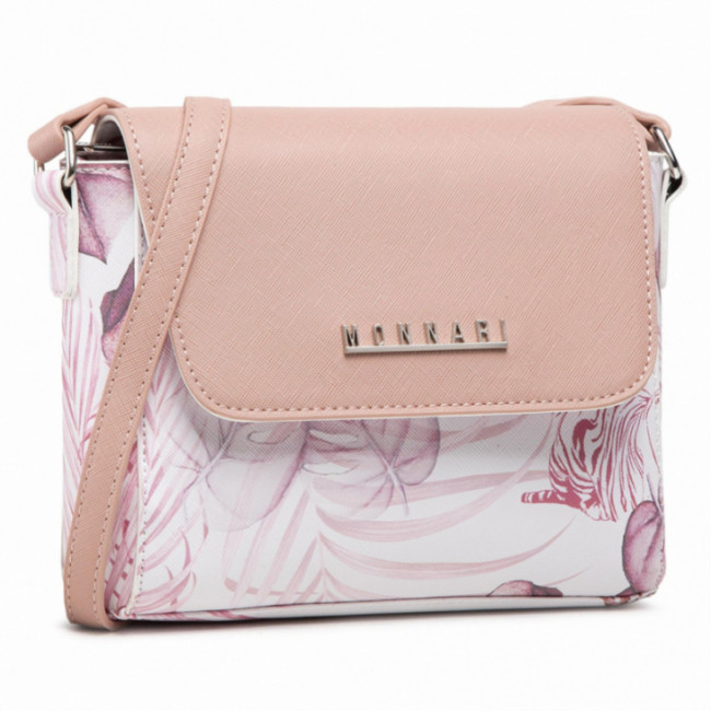 Kabelka MONNARI - BAG0440-M04 Pink With Pattern 2021