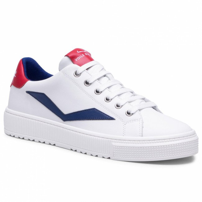 Sneakersy VOILE BLANCHE - Fit II 0012015717.01.1N10 White/Red
