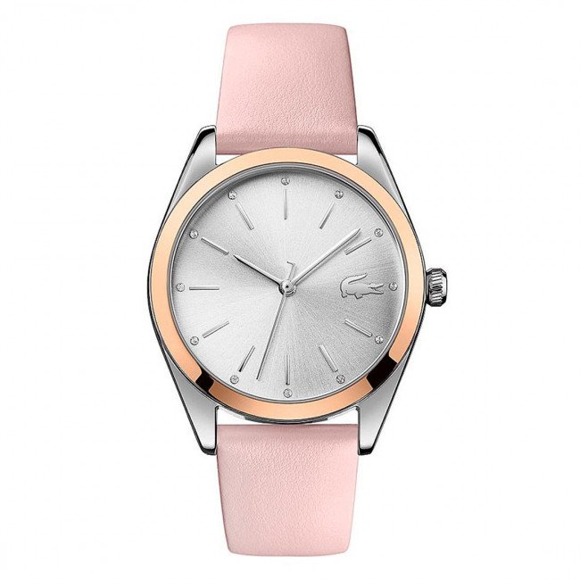 Hodinky LACOSTE - Parisienne 2001098 Pink/Silver