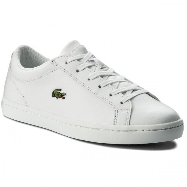Sneakersy LACOSTE - Straightset Bl 1 Spw 7-32SPW0133001 Wht