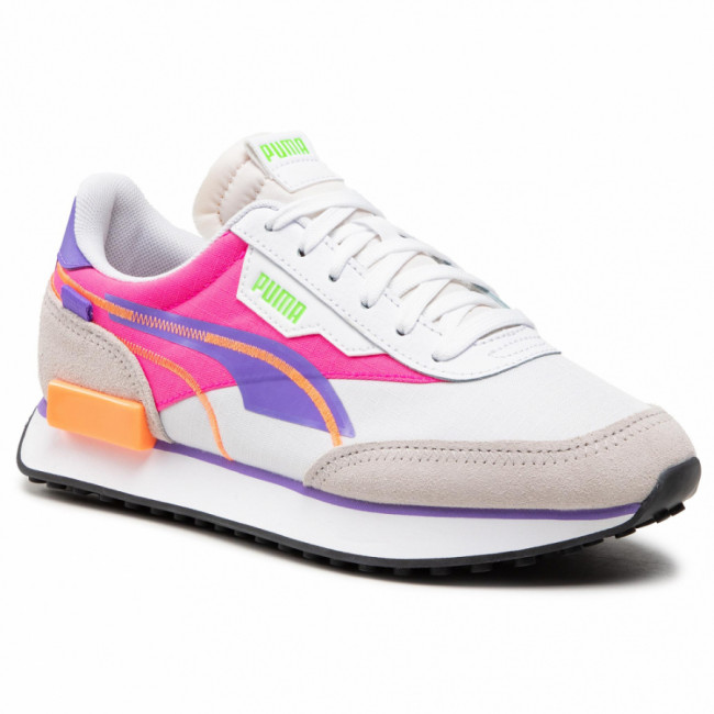 Sneakersy PUMA - Future Rider Twofold Sd 381052 03 Puma White/Luminous Purple