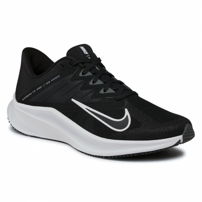 Topánky NIKE - Quest 3 CD0230 002 Black/White/Iron Grey