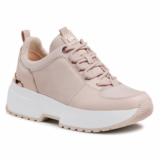 Sneakersy MICHAEL MICHAEL KORS - Cosmo Trainer 43F9CSFS3S  Soft Pink