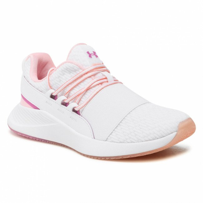 Topánky UNDER ARMOUR - Ua W Charged Breathe Clr Sft 3023658-100 Wht