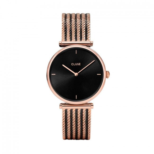 Hodinky CLUSE - Triomphe CW0101208005 Rose Gold/Black