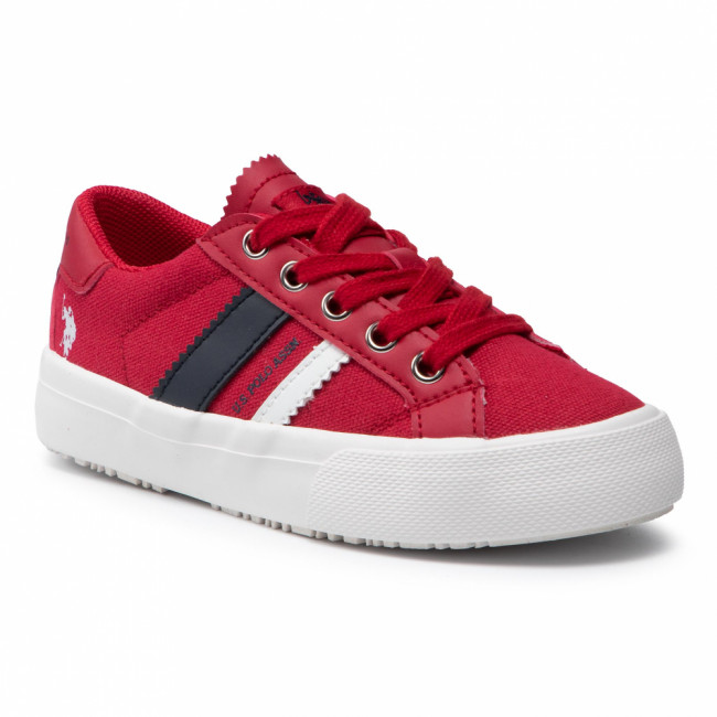 Tenisky U.S. POLO ASSN. - Marty154 MARTY4154S1/CY1 Red