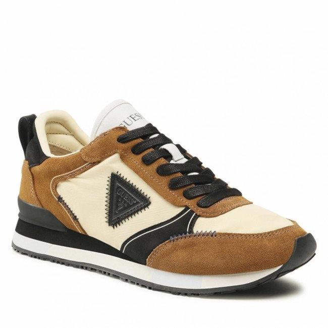 Sneakersy GUESS - New Glorym FM7NGM SUE12 BROWN