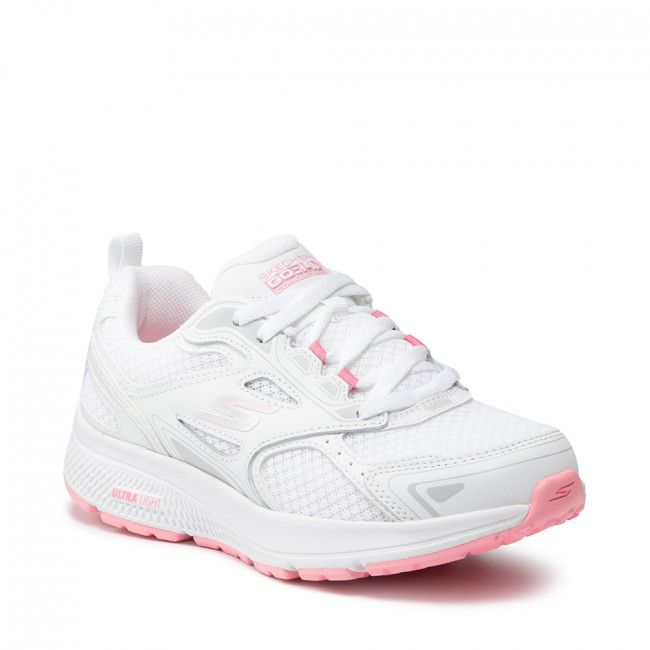 Topánky SKECHERS - Go Run Consistent 128075/WPK White/Pink