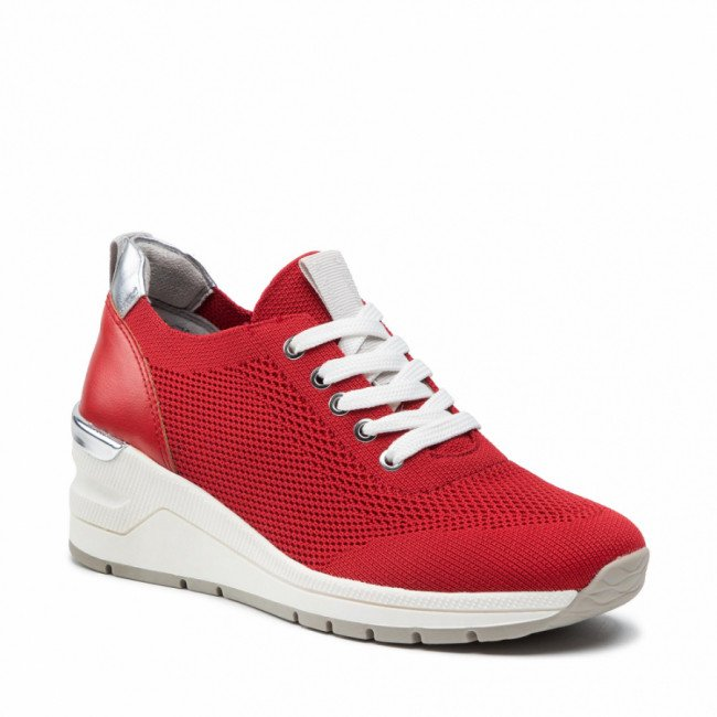 Sneakersy MARCO TOZZI - 2-23779-26 Red Comb 597