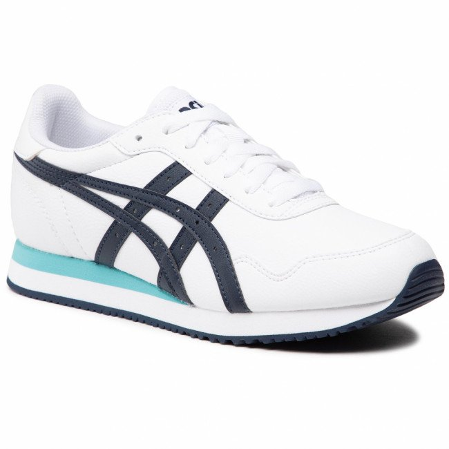 Sneakersy ASICS - Tiger Runner 1191A301 White/Midnight 100