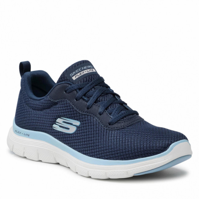 Sneakersy SKECHERS - Brilliant View 149303/NVBL Navy/Blue