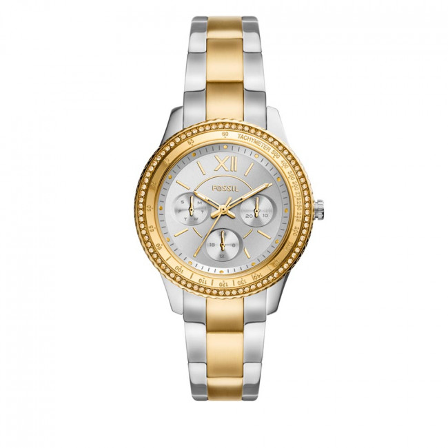 Hodinky FOSSIL - ES5107  Silver/Gold