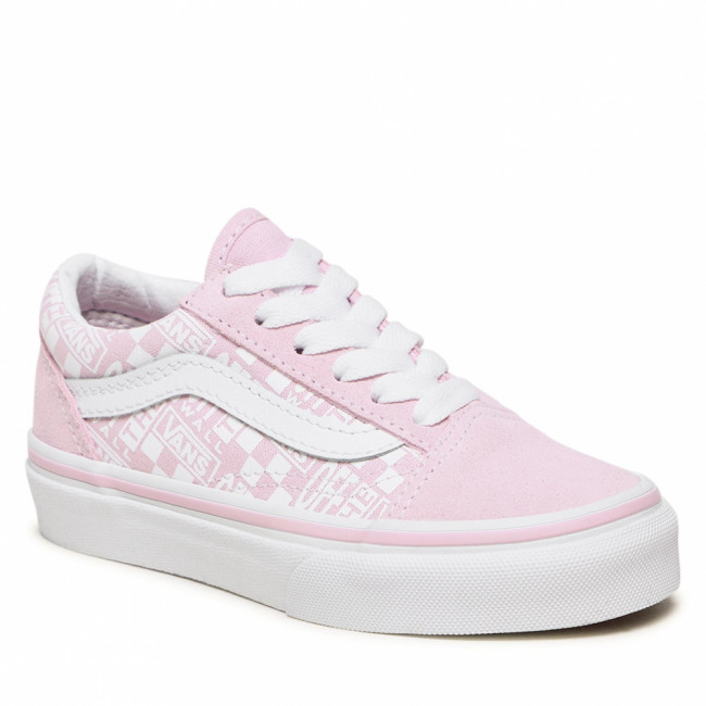 Tenisky VANS - Old Skool VN0A5AOA2301 (Off The Wall)Lilac Snow/True White