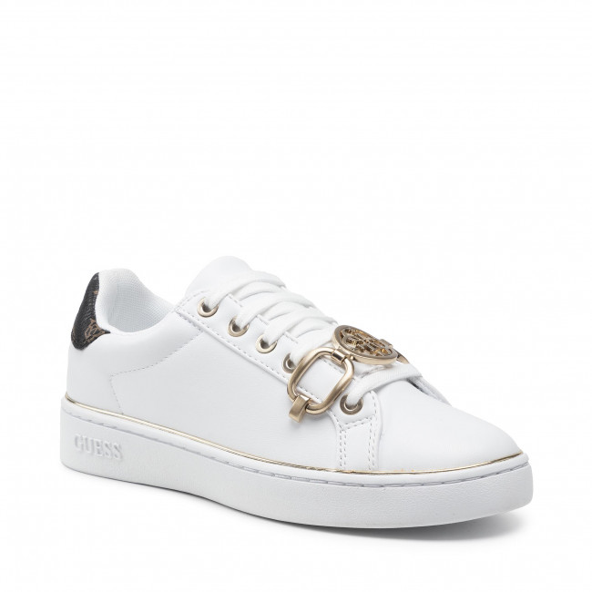Sneakersy GUESS - Babe FL7BAA ELE12  WHIBR