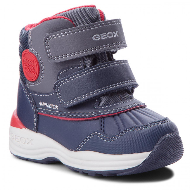 Snehule GEOX - B N.Gulp B. B Abx A B841GA 054FU C4075 M Dk Navy/Red