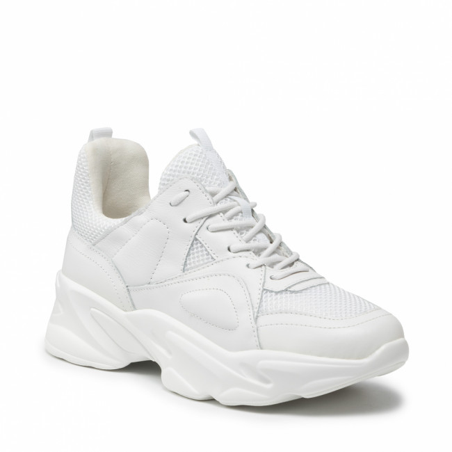 Sneakersy STEVE MADDEN - Movement SM11000483-03007-107 White Leather