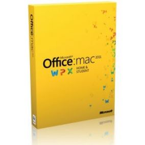 Microsoft Office Mac Home and Student 2011 -