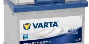 Varta Blue Dynamic 12V 52Ah 470A 552 400 047