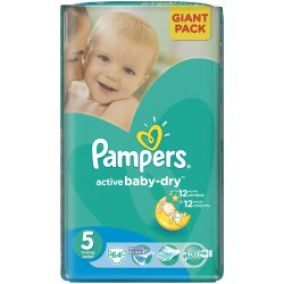 Pampers Plienky GP Junior 64ks