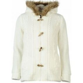 SoulCal Toggle Lined Knitted Hoody Ladies winter