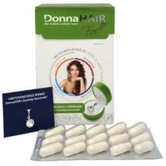 Simply You Donna Hair Forte 90 tob. + Prívesok