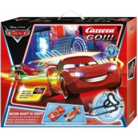 Carrera GO Disney/Pixar Neon Shift'n drift