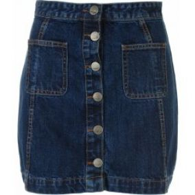 Firetrap A Line skirt ladies indigo