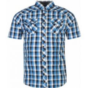 Firetrap - Woven Checked Shirt Mens