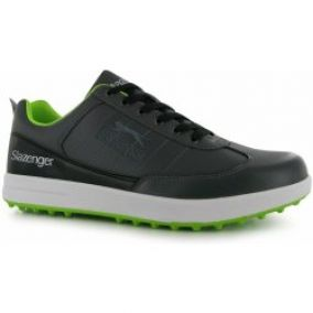 Slazenger Casual Mens Golf Shoes Grey