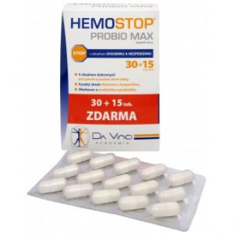 Simply You HemoStop ProBio Max 30 tob. + 15 tob.