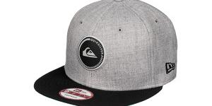 Quiksilver Šiltovka Stake Medium Grey Heather