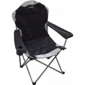 Regatta Kruza Chair Black/Sealgr